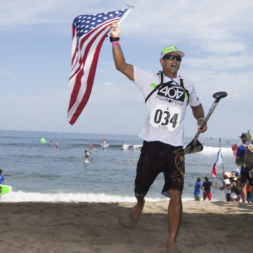LEGENDARY 20KM MEN'S SUP AND PADDLEBOARD LONG DISTANCE RACE IN SAYULITA, MEXICO