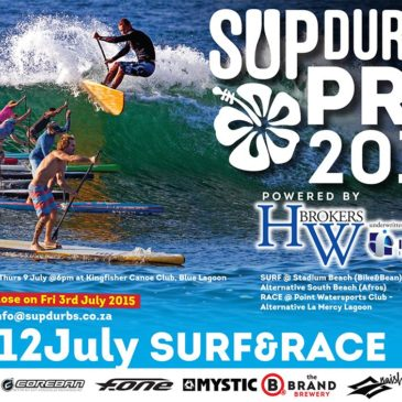 SUP Durbs Pro Entries Now Open