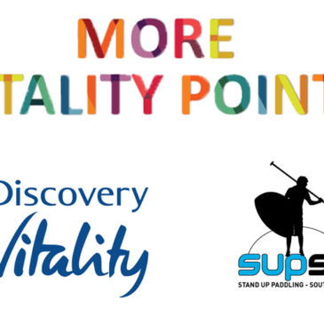 Earn Discovery Vitality Points for SUPSA Races