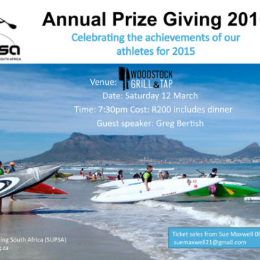 SUPSA Annual Prize Giving Evening Announced