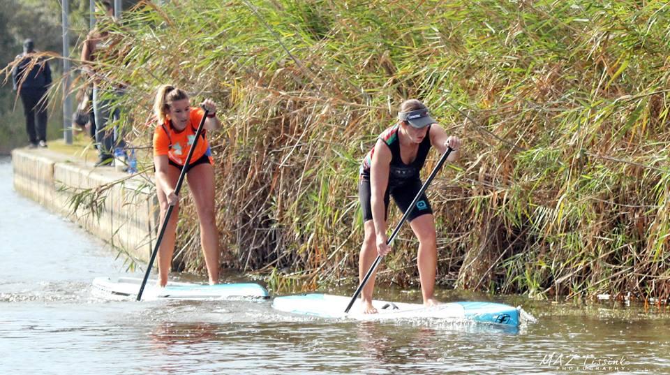 Jackie de Billott Red Paddle Century City 10km National SUP Race
