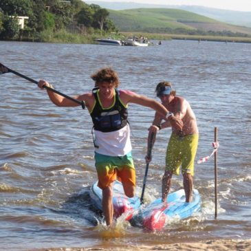 Frick and Williamson Take Zinkwazi SUP Race Titles
