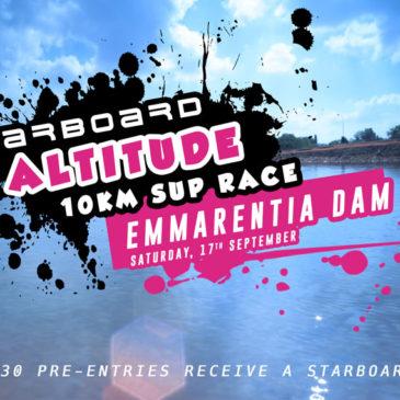 Starboard Altitude 10km SUP Race – Emmarentia Dam
