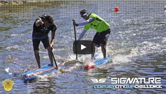 Frick & de Billot Win at 2017 Signature Century City SUP Challenge