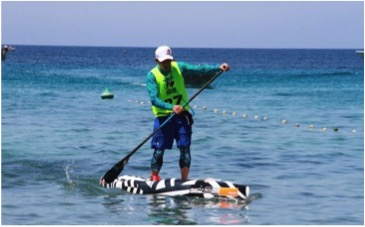 South African SUP and Prone Team 2017- Gary van Rooyen