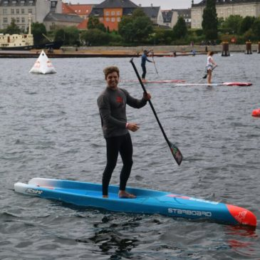 Team SA take in Copenhagen Race Route with Practice Paddle