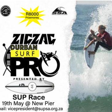 City Surf Series: Enter The Zigzag Durban Surf Pro SUP Race